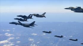 Corea del Sur y EEUU efectúan ejercicios aéreos conjuntos