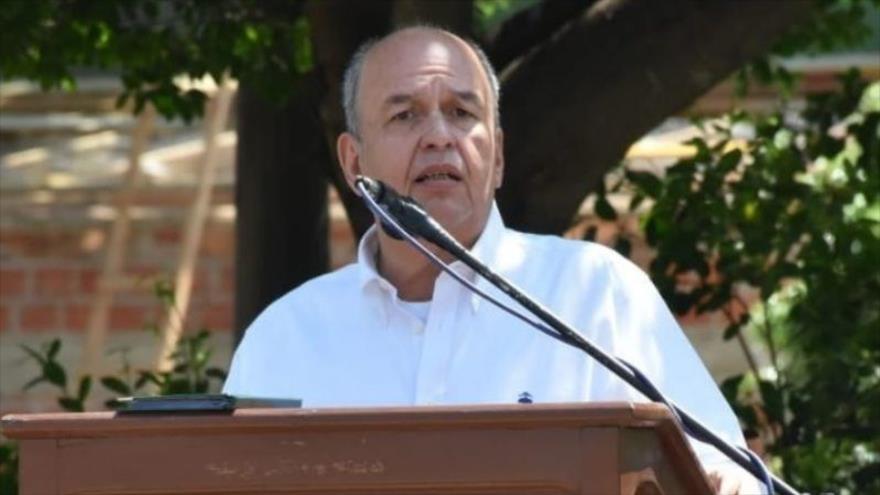 El exministro interino del gobierno de facto de Bolivia Arturo Murillo. (Foto: Ministerio de Gobierno)