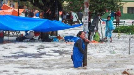 Vídeo: Fuertes lluvias e inundaciones dejan 4 muertos en Bolivia