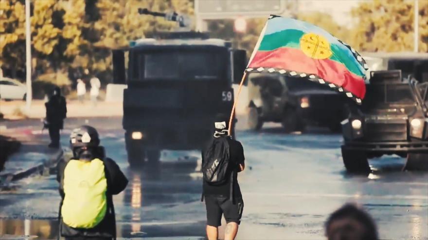 Buen día América Latina: Carabineros cargan contra etnia mapuche