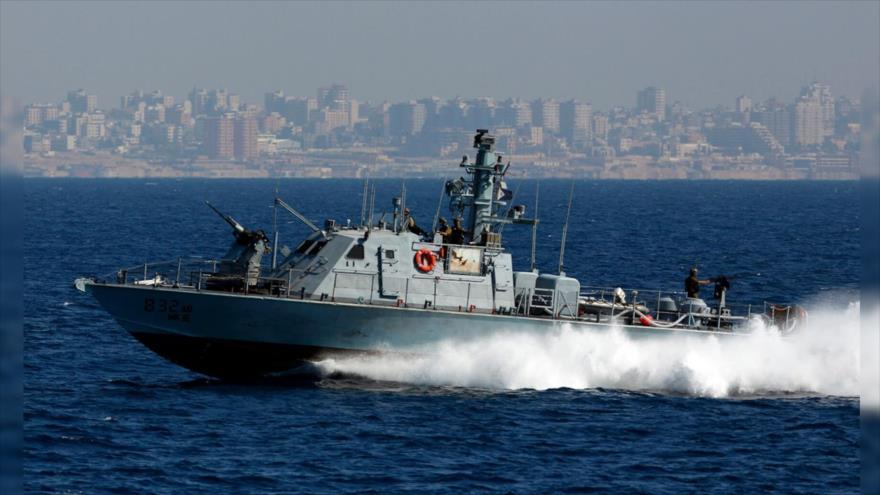 Barco militar israelí viola el espacio marítimo de El Líbano | HISPANTV