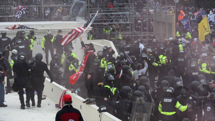 Pentágono moviliza la Guardia Nacional por disturbios en el Congreso | HISPANTV