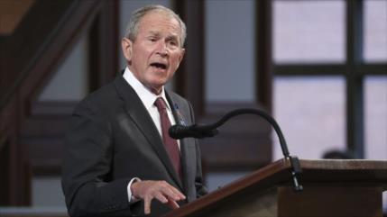 """Bush tilda de """"insurrección"""" el asalto al Capitolio en EEUU"""