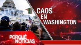 El Porqué de las Noticias: Caos en Washington. Poderío defensivo de Irán. No a la impunidad en Venezuela
