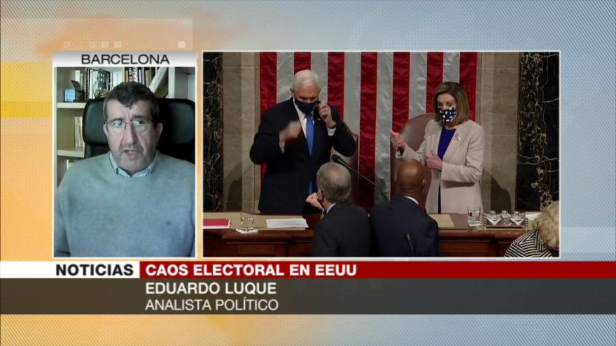 Luque: Asalto al Capitolio muestra fractura de la sociedad de EEUU