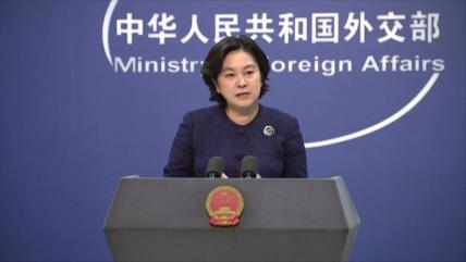 China urge a EEUU a detener los contactos militares con Taiwán