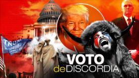 Detrás de la Razón: Manifestantes invaden Congreso mientras certificaban al nuevo presidente estadounidense