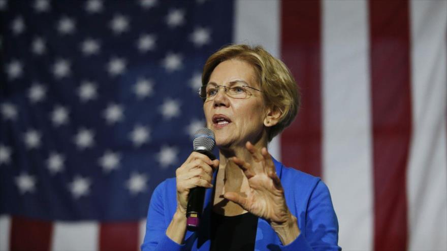 La senadora demócrata de EE.UU. Elizabeth Warren.