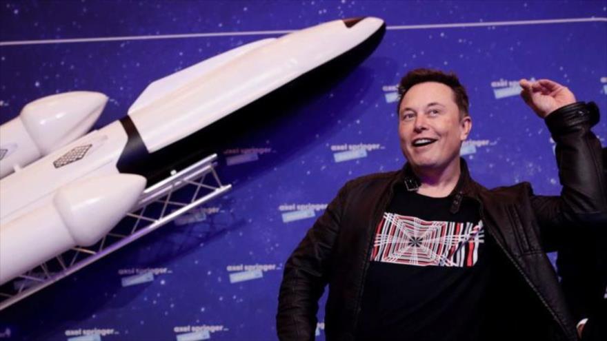 El fundador de la empresa estadounidense Tesla, Elon Musk.