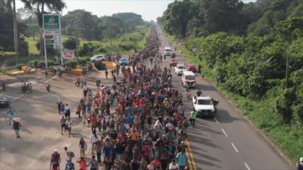 Podrían arribar más caravanas migrantes a frontera sur de México