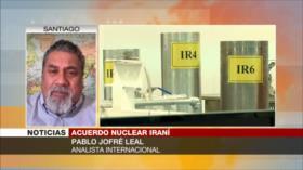"""""""EEUU no puede regresar al pacto nuclear con embargos contra Irán"""""""