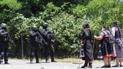 Masivo allanamiento en comunidades mapuche de la comuna de Ercilla