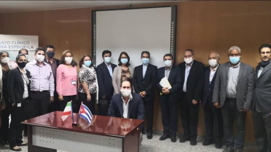 Cuba e Irán firman acuerdo sobre vacuna anti-COVID Soberana 02