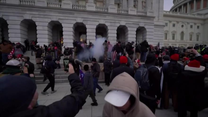 Siguen reacciones en el mundo tras asalto al Capitolio de EEUU
