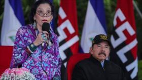 Vicepresidenta de Nicaragua: El odio es la derrota de la humanidad