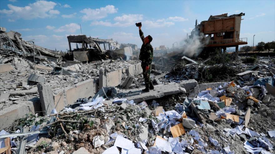 Ataque aéreo de EEUU mata a un niño sirio en Deir Ezzor   HISPANTV