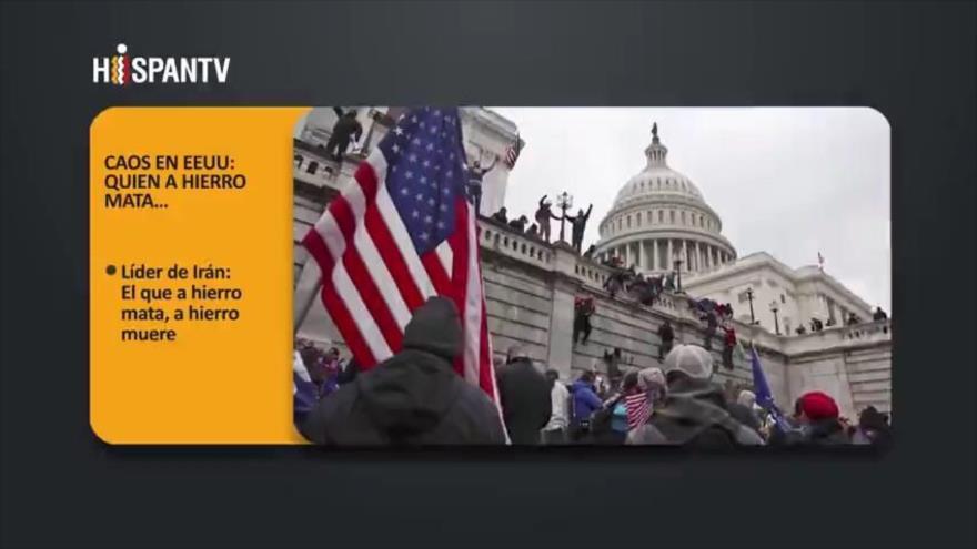 PoliMedios: Caos en EEUU; Quien a hierro mata…