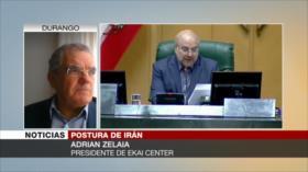 Zelaia: Gestión prudente de Irán ha mantenido vivo el pacto nuclear