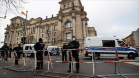 Alemania refuerza guardia en Bundestag tras asalto a Capitolio