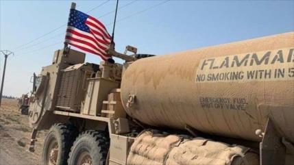 EEUU roba 50 camiones de cultivos sirios y los traslada a Irak