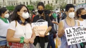Los peruanos exigen el fin de la brutalidad policial