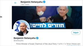 Netanyahu elimina la foto de Trump de su cuenta de Twitter