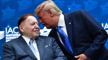 Muere Adelson, patrocinador financiero de Trump y Netanyahu