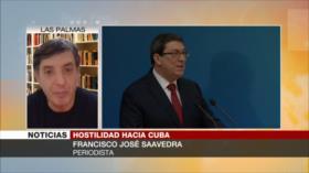 Saavedra: Aliados de EEUU y no Cuba patrocinan el terrorismo