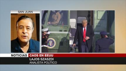 Szaszdi: Donald Trump se salvaría en el juicio por el Congreso