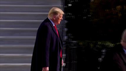 Trump: impeachment es la mayor caza de brujas de la Historia