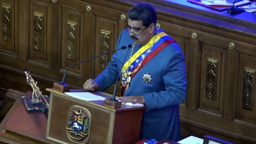 Maduro presentó mensaje anual ante la Asamblea Nacional