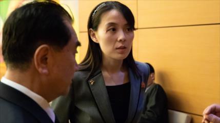 """Hermana de Kim Jong-un tacha de """"idiotas"""" a líderes surcoreanos"""