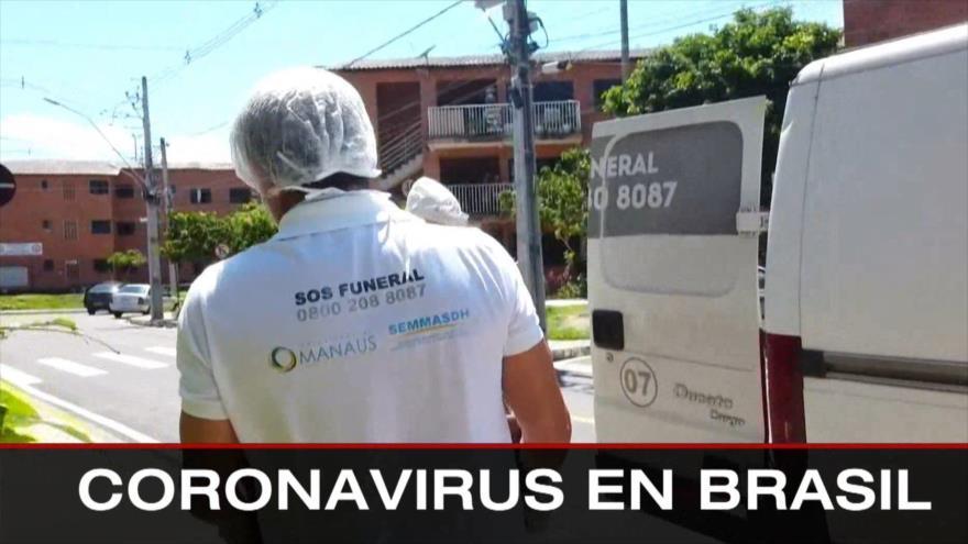 Caos en EEUU. Caída del matonismo. COVID-19 en Brasil - Boletín: 16:30 - 13/01/2020