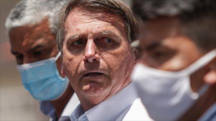 "HRW: Bolsonaro ""sabotea"" medidas sanitarias contra COVID-19"
