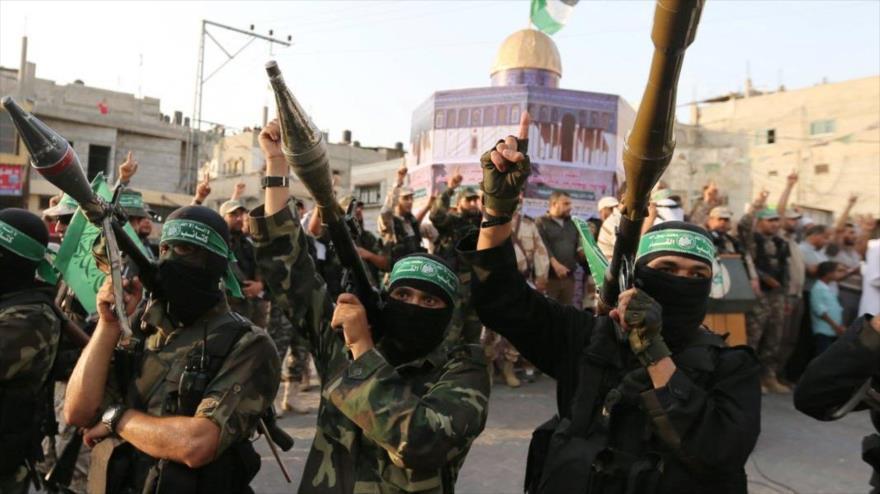Combatientes del Movimiento de Resistencia Islámica de Palestina (HAMAS) en Gaza. (Foto: Reuters)
