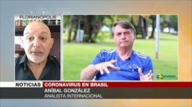 González: Bolsonaro siente en carne propia sus errores sobre pandemia