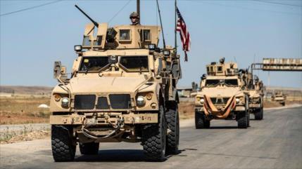EEUU envía 60 vehículos con armas a zona petrolera en Siria