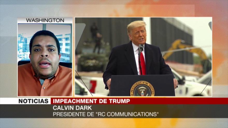 Dark: Impeachment a Trump es por sus ataques a la democracia