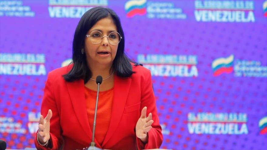 Delcy Rodríguez promete digitalización de economía venezolana en 2021