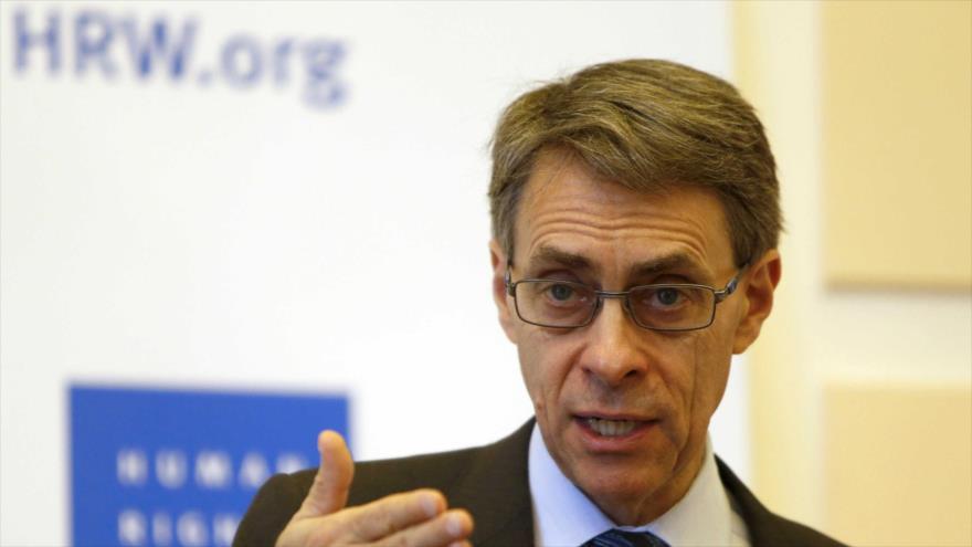 Kenneth Roth, director ejecutivo de Human Rights Watch (HRW), ofrece una rueda de prensa. (Foto: Reuters)