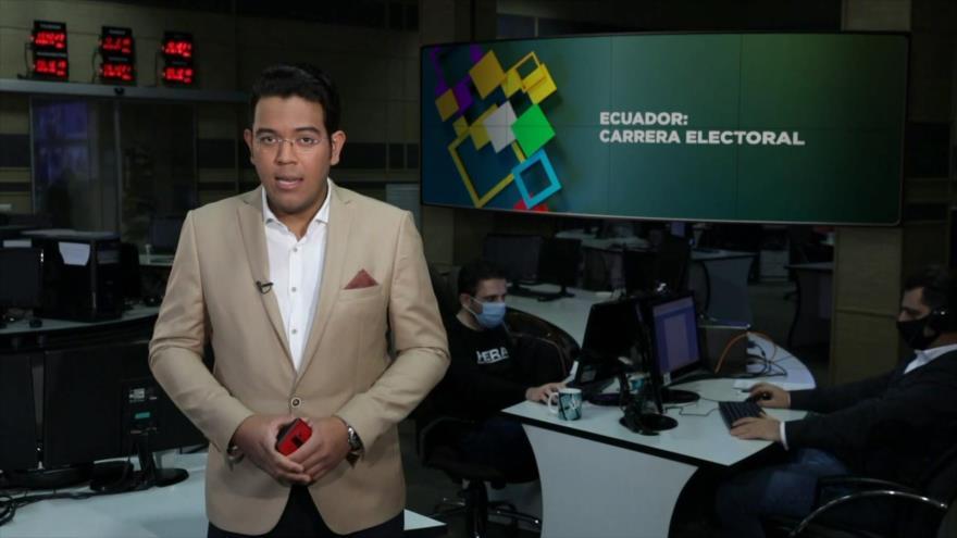 Buen día América Latina: Ecuador: carrera electoral