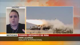 Lejarza: Irán, listo ante cualquier amenaza contra su territorio