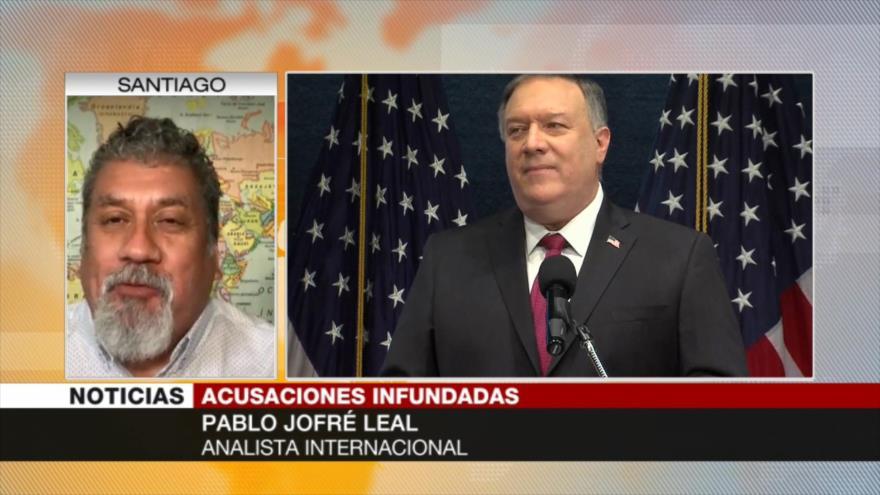 Jofré Leal: EEUU acusa a Irán para tapar su crisis interna | HISPANTV