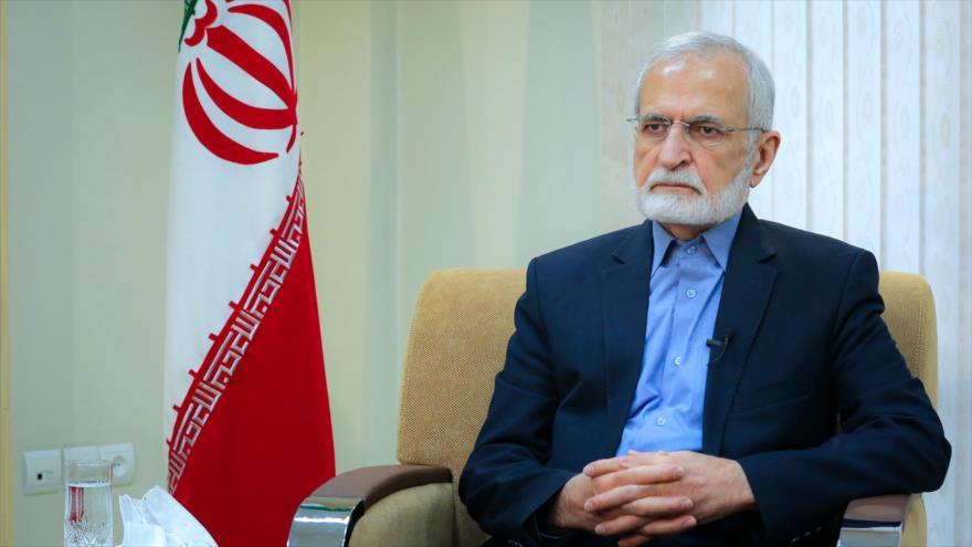 El presidente del Consejo Estratégico de Relaciones Exteriores de Irán, Kamal Jarazi. (Foto: Khamenei.ir)