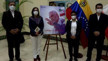Venezuela rinde homenaje al general iraní Qasem Soleimani