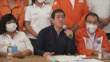 """""""Se está allanando el camino hacia el fraude electoral en Ecuador"""""""