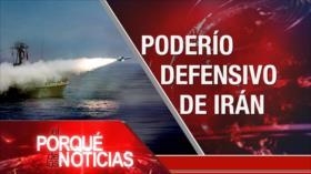 El Porqué de las Noticias: Fuerza Naval de Irán. Polémica decisión de EEUU. Elecciones en Ecuador