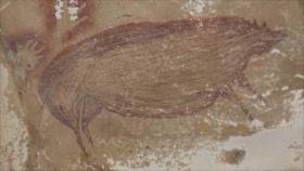 Descubren la pintura rupestre más antigua del mundo