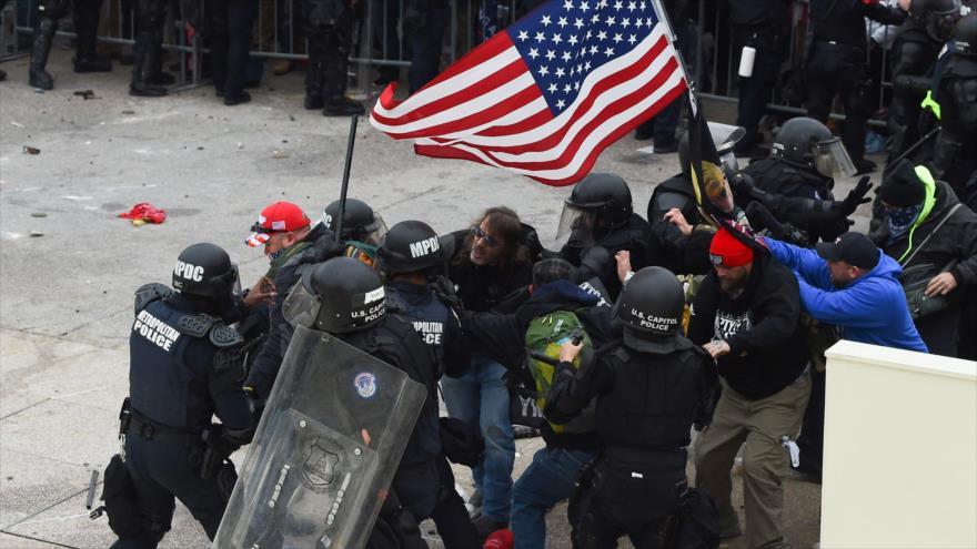 Vídeo: 20 de enero, ¿fecha de una posible guerra civil en EEUU?
