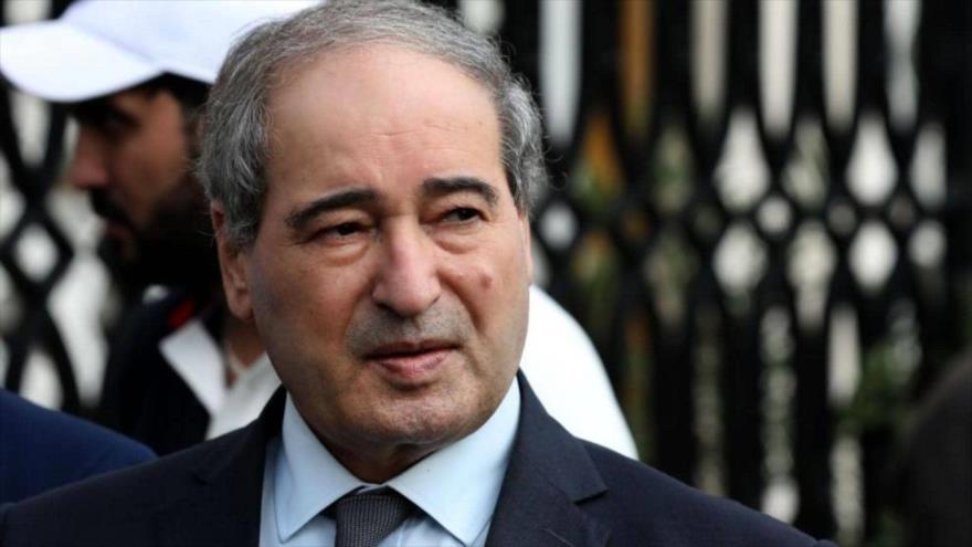 El ministro de Asuntos Exteriores de Siria, Faisal al-Miqdad.